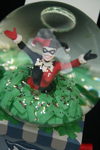 Harley Quinn Snow Globe