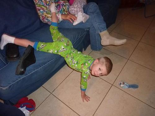 Tyler upside dwn on sofa 2