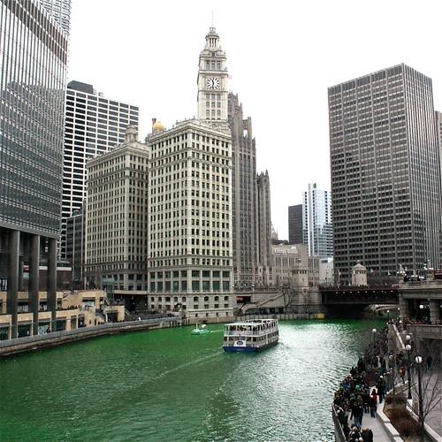 Green Chicago River