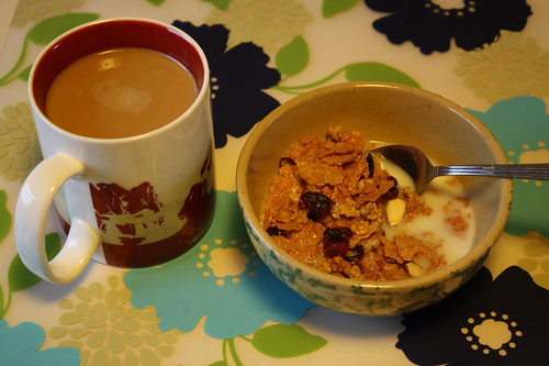 coffee, Great Grains Cranberry Almond crunch