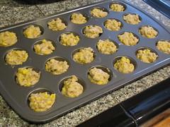 Whole Grain Corn Mini Muffins