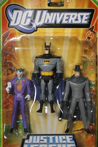 Bat-inventory DC Universe Justice League Unlimited Fan Collection- Joker, Batman and the Gray Ghost