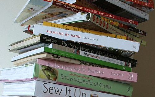 I have a lot of craft books...590