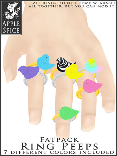 Apple Spice - Ring Peep! Fatpack