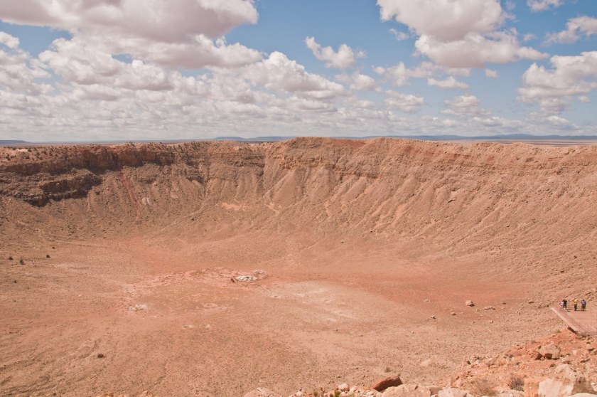 Looking into Meteor Crater