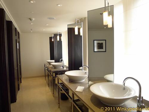 Toilet at St Pancras Hotel
