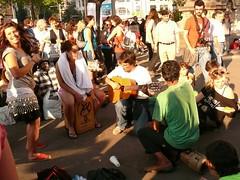 Indignados , Plaça de Catalunya (108)