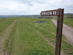 Metal Ridgeway sign