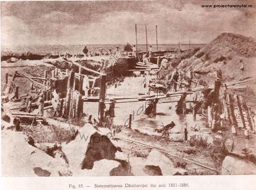 poza 04 - Sistematizarea Dambovitei din anii 1881 -1886
