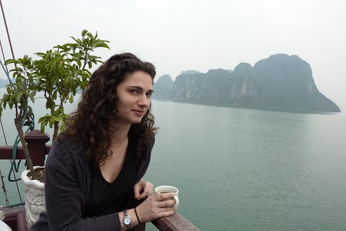 Coffee in Halong Bay