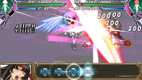 Queen's Blade : Spiral Chaos - attack 5