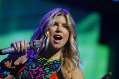 Fergie at the 2011 Walmart Shareholders Meeting