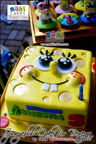 Spongebob Cake for Benezra - Maki Cakes