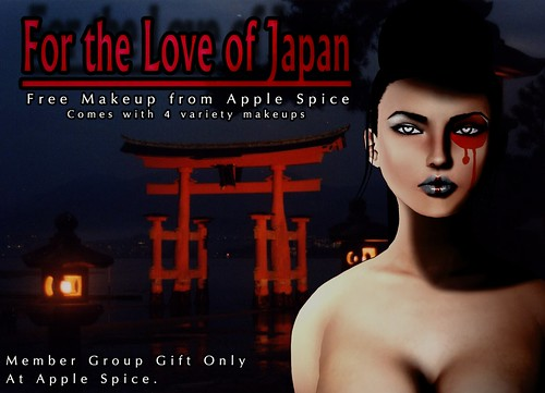 For the Love of Japan - Free Makeup @ Apple Spice