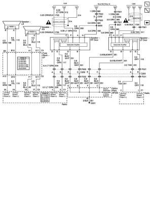 04 Coupe Bose stereo speaker diagram  CorvetteForum