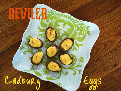 Deviled Cadbury Eggs
