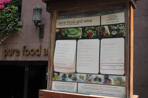 Pure Food and Wine Front2