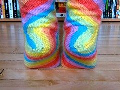 Rainbow Skew Socks