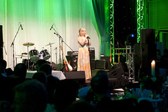 NSPCC Childline White Rose ball - Lesley Garre...