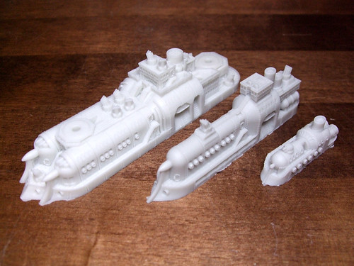 Dystopian Wars Resin Detail