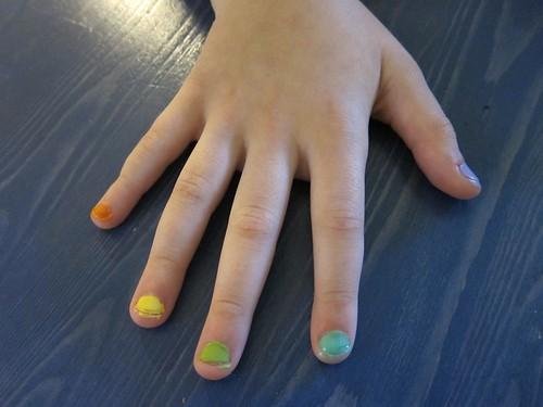 Symmie Rainbow Nails