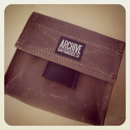 Archive Bags - waxed hip bag by Archive Victor