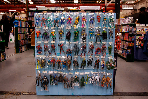 Wall of Superheroes by BaboMike