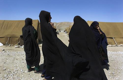 Afghan Former Refugees at UNHCR Returnee Camp