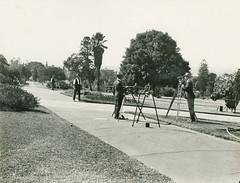 Surveyors at work, 1925