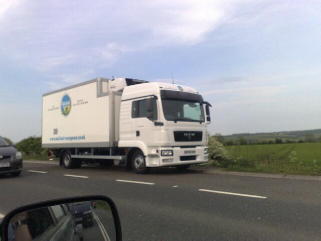 MAN Fridge on the A46 near Bath