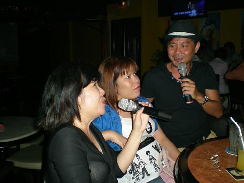 Singing Mamma Mia...