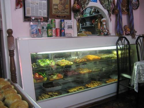 counter at Kashkar