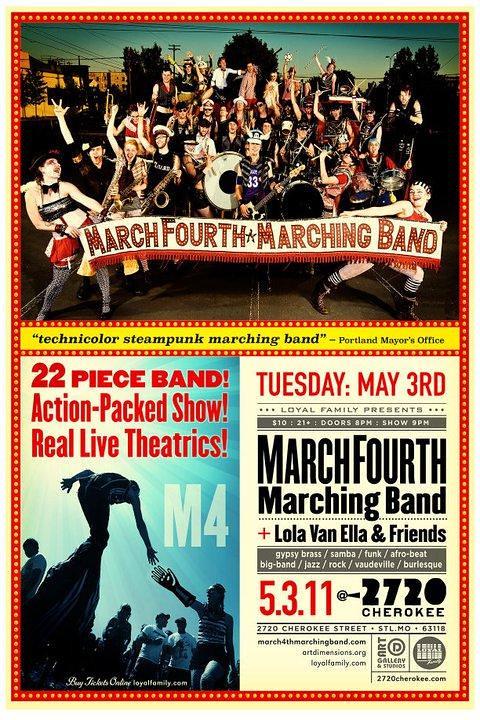 March Fourth 5-3-11