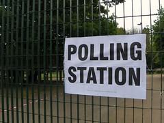 Project 365 Day 125: Polling Station