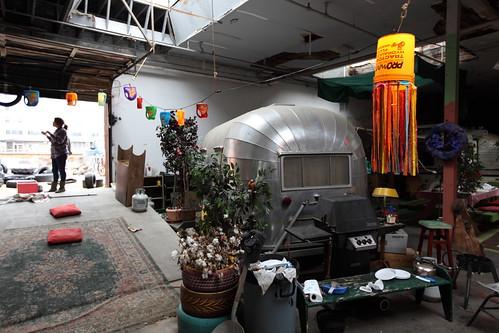 More indoor trailer park