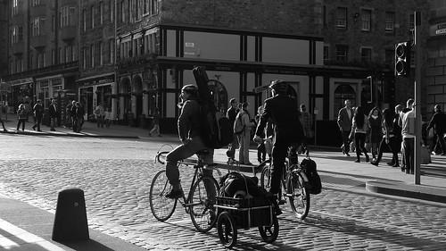 band on a bike