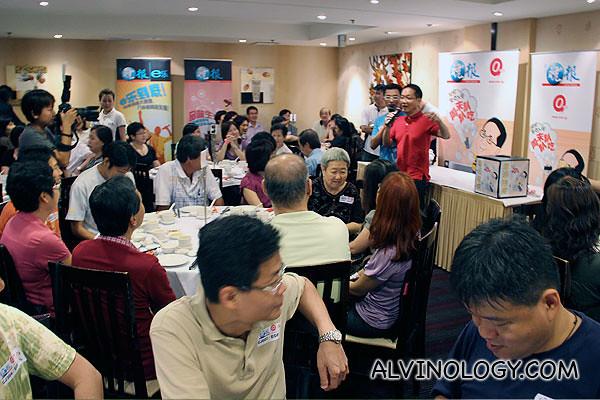 Ah Lun addressing everyone