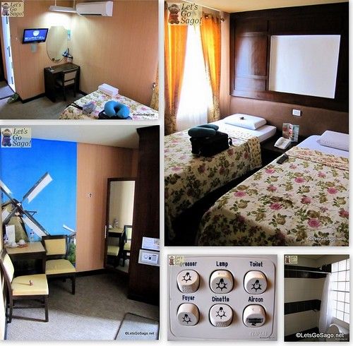My Standard Twin Room in Eurotel Baguio