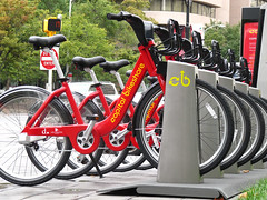 a Capital Bikeshare station (by: James D. Schwartz, creative commons license)