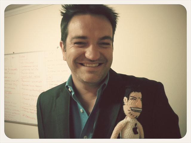 Juan Pablo y su mini me