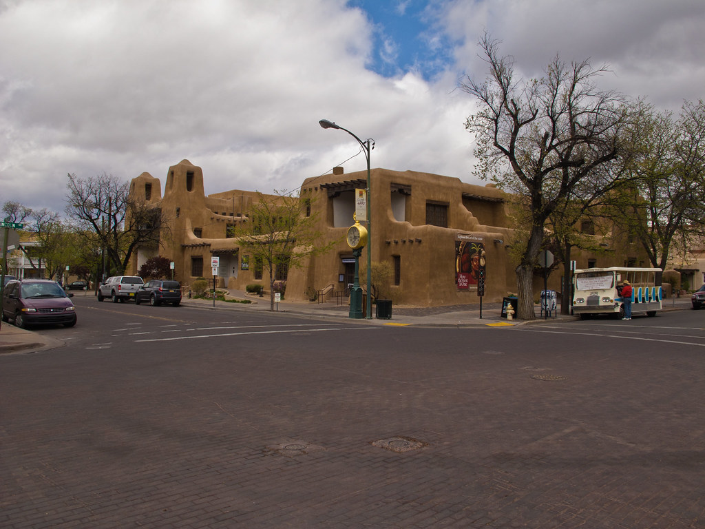 A modern museum and art gallery, Santa Fe