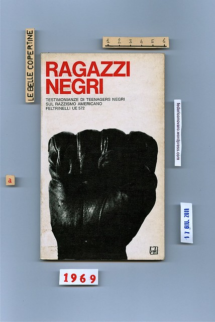 (Marcello Argilli) Ragazzi negri, Feltrinelli 1969. Copertina (Silvio Coppola)