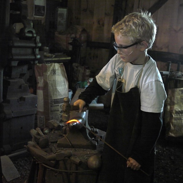 Young Blacksmith