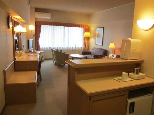 My hotel room, Toyoko Inn Narita Kuko