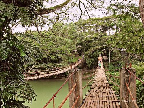 Hanging bridge, Bohol