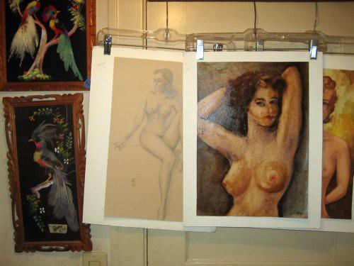 Estate sale nudes