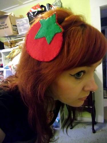 tomato headband
