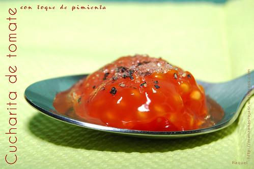 Cucharita de tomate especiada