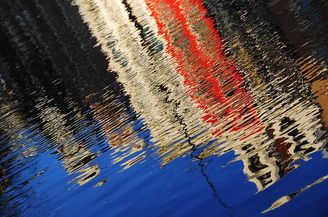 Agua de color