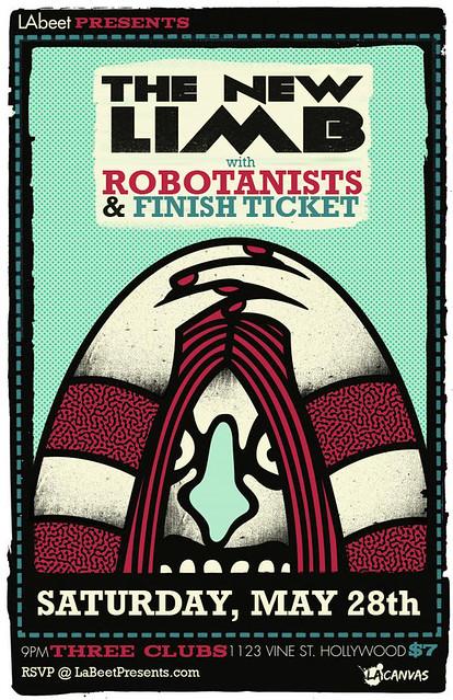 ROBOTANISTS @ 3 Clubs / Hollywood, CA - 5.28.2011